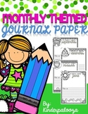 Monthly Themed Journal Paper