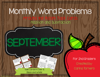 Monthly Word Problems- September
