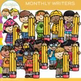 Monthly Writing Clip Art