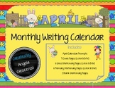 Monthly Writing Calendar - April