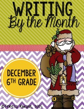 Christmas Writing Lessons for 6th Grade