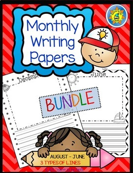 Monthly Writing Papers #1 - For Journals, Writing Centers,