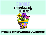 Doodle Months Of The Year
