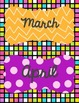 "Months of the Year 4""x 5.5"" Mini-Signs {FREE!}"