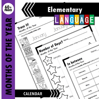 Months of the Year Activity Packet