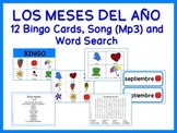 Months of the Year Games and Song {Spanish}