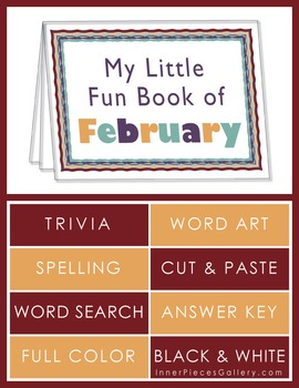 My Little Fun Book of February Helps Reinforce the Months