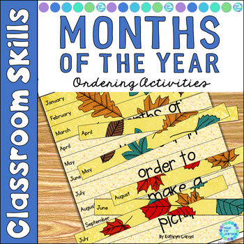 Months of the Year: Ordering Activities for Primary Grades