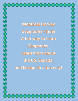 Montreal Hockey Geography Finder