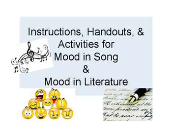 Mood in Song and Literature PowerPoints - Highly Engaging and FUN