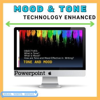 Mood & Tone Powerpoint (Technology Enhanced!)