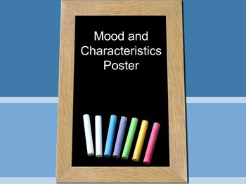 Mood and Characteristic Project
