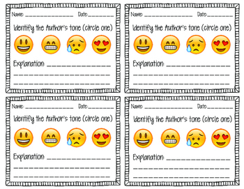 Mood and Tone Analysis using Emojis Exit Slip Formative As