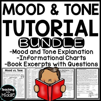 Mood and Tone Practice Package Middle School ELA Test Prep