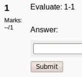 Moodle Math Questions