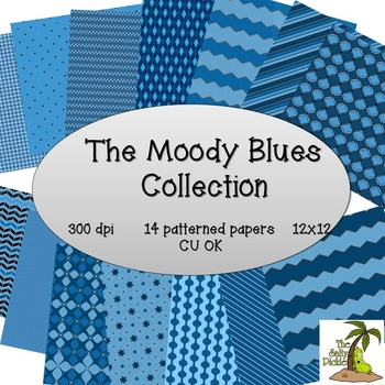 Moody Blues Paper Collection