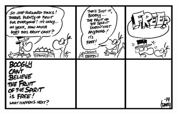 Moogly and Boogly Comics: The Fruit of the Spirit (Final Episode)