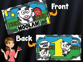 Moolah! Teacher Bucks Incentive Reward - 1,000 Printed Cards