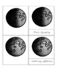 Moon Phase 3 Part Cards