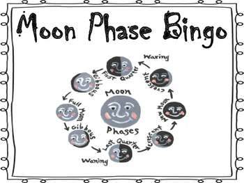 Moon Phase Bingo