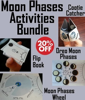 The Moon Phases Activities (Space Science/ Astronomy Unit)