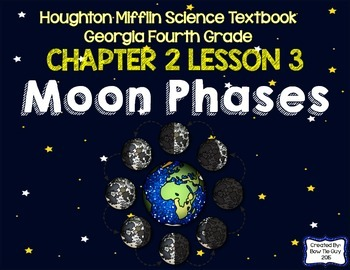 Moon Phases (Houghton Mifflin 4th Grade Science Chapter 2