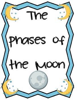 Moon Phases Mini Book