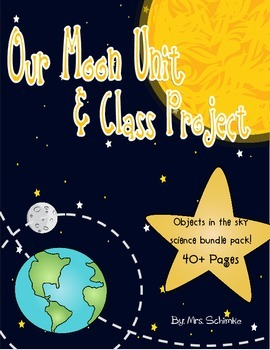 Moon Unit and Project Bundle: Objects in the sky: 40+ Page