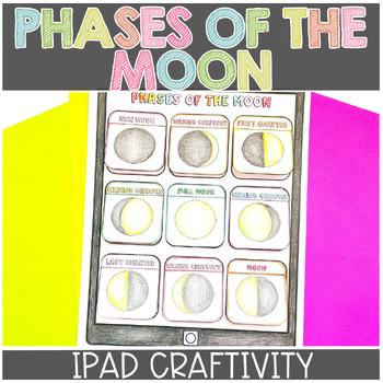 Moon Phases Craftivity (iMoon)