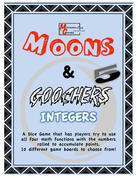 Moons & Goochers 5 - Integers, Add, Subtract, Multiplicati