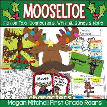 Mooseltoe~ Literature Connections, Writing, Math, & a Craft