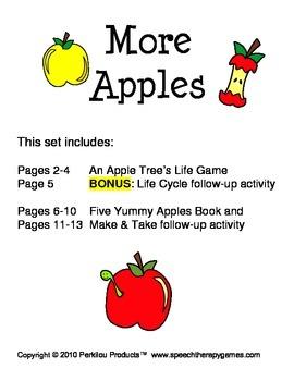 More Apples Set