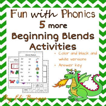 """More Beginning Blends (""""dr,"""" """"gr,"""" and """"sp"""")"""