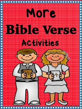 Bible and Scripture Memory Verse activities 1 JOHN 4:14-15