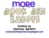 More Book Bin Labels