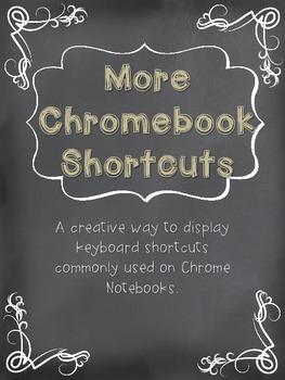 More Chromebook Shortcuts Tan Burlap