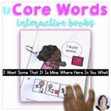 More Core Words Books to Teach 12 Core Vocabulary to AAC Users