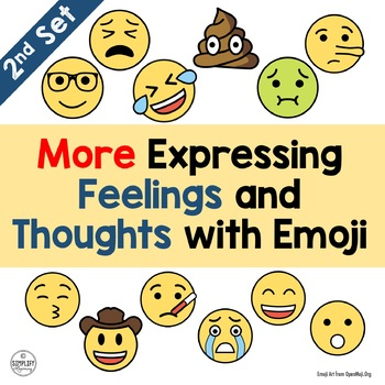 More Expressing Feelings and Thoughts with Emoji (Set 2)