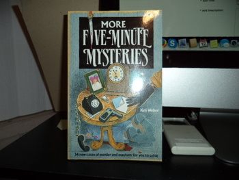 More Five-Minute Mysteries ISBN 1-56138-058-X