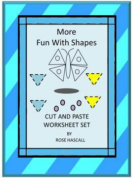 Shapes Set 2 Fun with Shapes Cut and Paste Activities