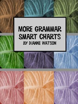More Grammar Smart Charts by Dianne Watson