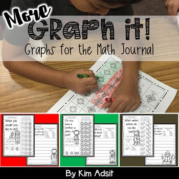 Graph It 2! - Encore Packet, Graphs for Math Journals