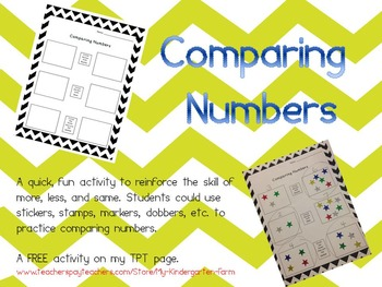 More, Less, Same: Comparing Numbers