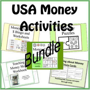 USA Money Activities BUNDLE