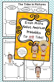 More Native American Printables for ANY Tribe { With Edita