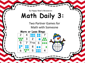More Or Less Games for Daily 3