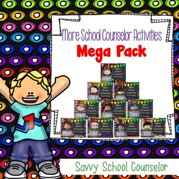 More School Counselor Activities MEGA 10-Month Pack