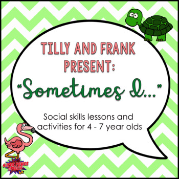 "Tilly and Frank present ""Sometimes I..."" Social Lessons"