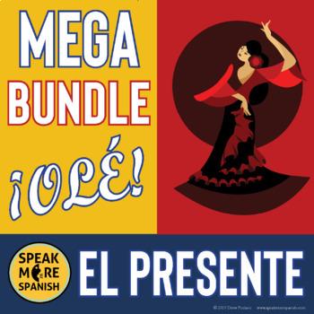 949 Nine Spanish Activities for Nine Dollars *Presente Ver
