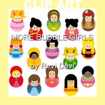 Girls clip art